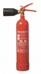 Sněhový hasicí přístroj - 2 CO2 A/ETS