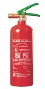 Pěnový hasicí přístroj - PE2ABF/ETS