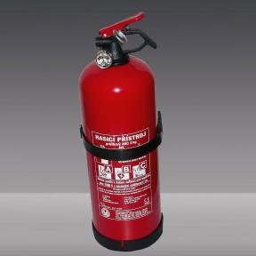 Práškový hasicí přístroj - P2Fp